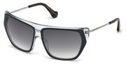 """Seleccione el menú """"COMPRAR"""" si desea comprar unas gafas de Balenciaga o seleccione la herramienta """"ZOOM"""" si desea ampliar la foto BA0105-92B."""