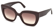 """Seleccione el menú """"COMPRAR"""" si desea comprar unas gafas de Balenciaga o seleccione la herramienta """"ZOOM"""" si desea ampliar la foto BA0130-48F."""