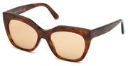 """Seleccione el menú """"COMPRAR"""" si desea comprar unas gafas de Balenciaga o seleccione la herramienta """"ZOOM"""" si desea ampliar la foto BA0132-53E."""