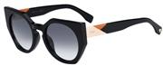 """Seleccione el menú """"COMPRAR"""" si desea comprar unas gafas de Fendi o seleccione la herramienta """"ZOOM"""" si desea ampliar la foto FF0151S-807JJ."""
