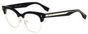 """Seleccione el menú """"COMPRAR"""" si desea comprar unas gafas de Fendi o seleccione la herramienta """"ZOOM"""" si desea ampliar la foto FF0163-VJG."""