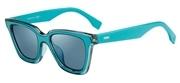 """Seleccione el menú """"COMPRAR"""" si desea comprar unas gafas de Fendi o seleccione la herramienta """"ZOOM"""" si desea ampliar la foto FF0195S-KLBPS."""
