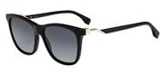 """Seleccione el menú """"COMPRAR"""" si desea comprar unas gafas de Fendi o seleccione la herramienta """"ZOOM"""" si desea ampliar la foto FF0199S-807HD."""