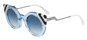 """Seleccione el menú """"COMPRAR"""" si desea comprar unas gafas de Fendi o seleccione la herramienta """"ZOOM"""" si desea ampliar la foto FF0240S-MVU08."""