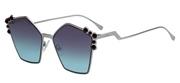 """Seleccione el menú """"COMPRAR"""" si desea comprar unas gafas de Fendi o seleccione la herramienta """"ZOOM"""" si desea ampliar la foto FF0261S-6LBJF."""