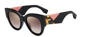 """Seleccione el menú """"COMPRAR"""" si desea comprar unas gafas de Fendi o seleccione la herramienta """"ZOOM"""" si desea ampliar la foto FF0264S-807JL."""