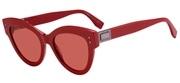 """Seleccione el menú """"COMPRAR"""" si desea comprar unas gafas de Fendi o seleccione la herramienta """"ZOOM"""" si desea ampliar la foto FF0266S-C9AU1."""
