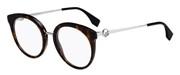 """Seleccione el menú """"COMPRAR"""" si desea comprar unas gafas de Fendi o seleccione la herramienta """"ZOOM"""" si desea ampliar la foto FF0303-086."""