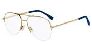 """Seleccione el menú """"COMPRAR"""" si desea comprar unas gafas de Fendi o seleccione la herramienta """"ZOOM"""" si desea ampliar la foto FFM0036-J5G."""