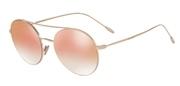 """Seleccione el menú """"COMPRAR"""" si desea comprar unas gafas de Giorgio Armani o seleccione la herramienta """"ZOOM"""" si desea ampliar la foto AR6050-30116F."""