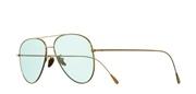 """Seleccione el menú """"COMPRAR"""" si desea comprar unas gafas de Cutler and Gross o seleccione la herramienta """"ZOOM"""" si desea ampliar la foto 1266-GoldPlatedBlueLens."""