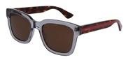 """Seleccione el menú """"COMPRAR"""" si desea comprar unas gafas de Gucci o seleccione la herramienta """"ZOOM"""" si desea ampliar la foto GG0001S-005."""