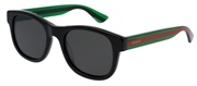 """Seleccione el menú """"COMPRAR"""" si desea comprar unas gafas de Gucci o seleccione la herramienta """"ZOOM"""" si desea ampliar la foto GG0003S-006."""