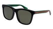 """Seleccione el menú """"COMPRAR"""" si desea comprar unas gafas de Gucci o seleccione la herramienta """"ZOOM"""" si desea ampliar la foto GG0057SK-002."""