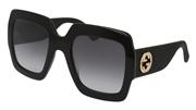"""Seleccione el menú """"COMPRAR"""" si desea comprar unas gafas de Gucci o seleccione la herramienta """"ZOOM"""" si desea ampliar la foto GG0102S-001."""