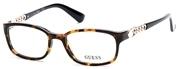 """Seleccione el menú """"COMPRAR"""" si desea comprar unas gafas de Guess o seleccione la herramienta """"ZOOM"""" si desea ampliar la foto GU2558-052."""