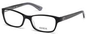 """Seleccione el menú """"COMPRAR"""" si desea comprar unas gafas de Guess o seleccione la herramienta """"ZOOM"""" si desea ampliar la foto GU2591-001."""
