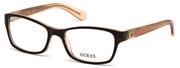"""Seleccione el menú """"COMPRAR"""" si desea comprar unas gafas de Guess o seleccione la herramienta """"ZOOM"""" si desea ampliar la foto GU2591-056."""