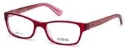 """Seleccione el menú """"COMPRAR"""" si desea comprar unas gafas de Guess o seleccione la herramienta """"ZOOM"""" si desea ampliar la foto GU2591-074."""