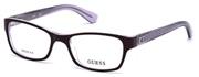 """Seleccione el menú """"COMPRAR"""" si desea comprar unas gafas de Guess o seleccione la herramienta """"ZOOM"""" si desea ampliar la foto GU2591-081."""