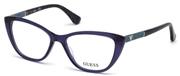 """Seleccione el menú """"COMPRAR"""" si desea comprar unas gafas de Guess o seleccione la herramienta """"ZOOM"""" si desea ampliar la foto GU2593-090."""