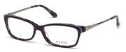 """Seleccione el menú """"COMPRAR"""" si desea comprar unas gafas de Guess o seleccione la herramienta """"ZOOM"""" si desea ampliar la foto GU2635-083."""