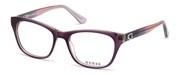 """Seleccione el menú """"COMPRAR"""" si desea comprar unas gafas de Guess o seleccione la herramienta """"ZOOM"""" si desea ampliar la foto GU2678-083."""