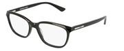 """Seleccione el menú """"COMPRAR"""" si desea comprar unas gafas de McQ o seleccione la herramienta """"ZOOM"""" si desea ampliar la foto MQ0110OP-001."""