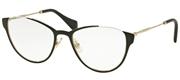 """Seleccione el menú """"COMPRAR"""" si desea comprar unas gafas de MiuMiu o seleccione la herramienta """"ZOOM"""" si desea ampliar la foto MU51OV-QE31O1."""