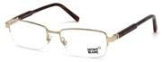 """Seleccione el menú """"COMPRAR"""" si desea comprar unas gafas de Mont Blanc o seleccione la herramienta """"ZOOM"""" si desea ampliar la foto MB0635-028."""
