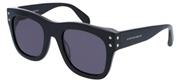 """Seleccione el menú """"COMPRAR"""" si desea comprar unas gafas de Alexander McQueen o seleccione la herramienta """"ZOOM"""" si desea ampliar la foto AM0050SA-AsianFit-001."""