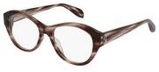"""Seleccione el menú """"COMPRAR"""" si desea comprar unas gafas de Alexander McQueen o seleccione la herramienta """"ZOOM"""" si desea ampliar la foto AM0053OA-AsianFit-003."""