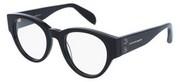 """Seleccione el menú """"COMPRAR"""" si desea comprar unas gafas de Alexander McQueen o seleccione la herramienta """"ZOOM"""" si desea ampliar la foto AM0055OA-AsianFit-001."""