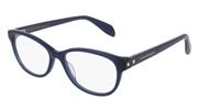 """Seleccione el menú """"COMPRAR"""" si desea comprar unas gafas de Alexander McQueen o seleccione la herramienta """"ZOOM"""" si desea ampliar la foto AM0074O-004."""