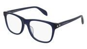 """Seleccione el menú """"COMPRAR"""" si desea comprar unas gafas de Alexander McQueen o seleccione la herramienta """"ZOOM"""" si desea ampliar la foto AM0076OA-004."""