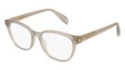 """Seleccione el menú """"COMPRAR"""" si desea comprar unas gafas de Alexander McQueen o seleccione la herramienta """"ZOOM"""" si desea ampliar la foto AM0077O-004."""