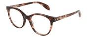 """Seleccione el menú """"COMPRAR"""" si desea comprar unas gafas de Alexander McQueen o seleccione la herramienta """"ZOOM"""" si desea ampliar la foto AM0131O-004."""