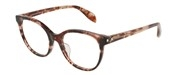 """Seleccione el menú """"COMPRAR"""" si desea comprar unas gafas de Alexander McQueen o seleccione la herramienta """"ZOOM"""" si desea ampliar la foto AM0131OA-004."""