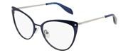 """Seleccione el menú """"COMPRAR"""" si desea comprar unas gafas de Alexander McQueen o seleccione la herramienta """"ZOOM"""" si desea ampliar la foto AM0140O-004."""