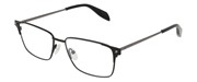 """Seleccione el menú """"COMPRAR"""" si desea comprar unas gafas de Alexander McQueen o seleccione la herramienta """"ZOOM"""" si desea ampliar la foto AM0142O-001."""