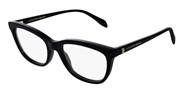 """Seleccione el menú """"COMPRAR"""" si desea comprar unas gafas de Alexander McQueen o seleccione la herramienta """"ZOOM"""" si desea ampliar la foto AM0161O-001."""