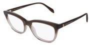 """Seleccione el menú """"COMPRAR"""" si desea comprar unas gafas de Alexander McQueen o seleccione la herramienta """"ZOOM"""" si desea ampliar la foto AM0161O-003."""