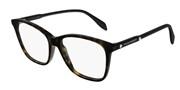 """Seleccione el menú """"COMPRAR"""" si desea comprar unas gafas de Alexander McQueen o seleccione la herramienta """"ZOOM"""" si desea ampliar la foto AM0191O-002."""
