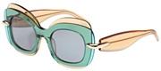"""Seleccione el menú """"COMPRAR"""" si desea comprar unas gafas de Pomellato o seleccione la herramienta """"ZOOM"""" si desea ampliar la foto PM0001S-02."""