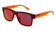 """Seleccione el menú """"COMPRAR"""" si desea comprar unas gafas de Puma o seleccione la herramienta """"ZOOM"""" si desea ampliar la foto PJ0001S-002."""