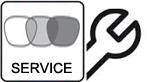 Replace RX Lenses Personal.Sunglasses + Estuche original duro o blando para cada tipo de gafas (según el tamaño de las gafas) y acompañado por un Certificado de Autenticidad.