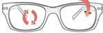 """Seleccione el menú """"COMPRAR"""" si desea comprar unas gafas de Replace RX Lenses o seleccione la herramienta """"ZOOM"""" si desea ampliar la foto Personal.Frame."""