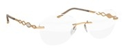 """Seleccione el menú """"COMPRAR"""" si desea comprar unas gafas de Silhouette o seleccione la herramienta """"ZOOM"""" si desea ampliar la foto CHARMING-DIVA-DE-7520."""