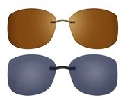 """Seleccione el menú """"COMPRAR"""" si desea comprar unas gafas de Silhouette o seleccione la herramienta """"ZOOM"""" si desea ampliar la foto CLIP-ON-5090-05."""