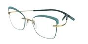 """Seleccione el menú """"COMPRAR"""" si desea comprar unas gafas de Silhouette o seleccione la herramienta """"ZOOM"""" si desea ampliar la foto TMAIconAccentRingsFT-5540."""